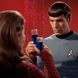spock drinking