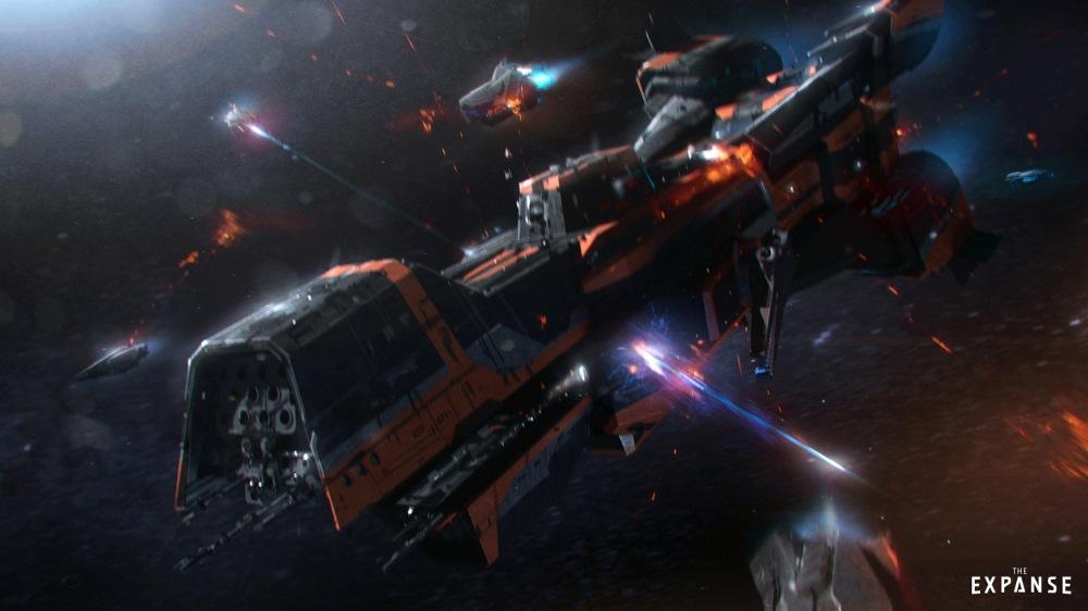 expanse-spaceship