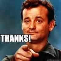 thank you bill murray